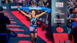Lorena Toriello triunfó en el Ironman Vitoria-Gasteiz 2019