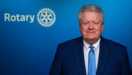 Mark Maloney presidente Rotary International Guatemala
