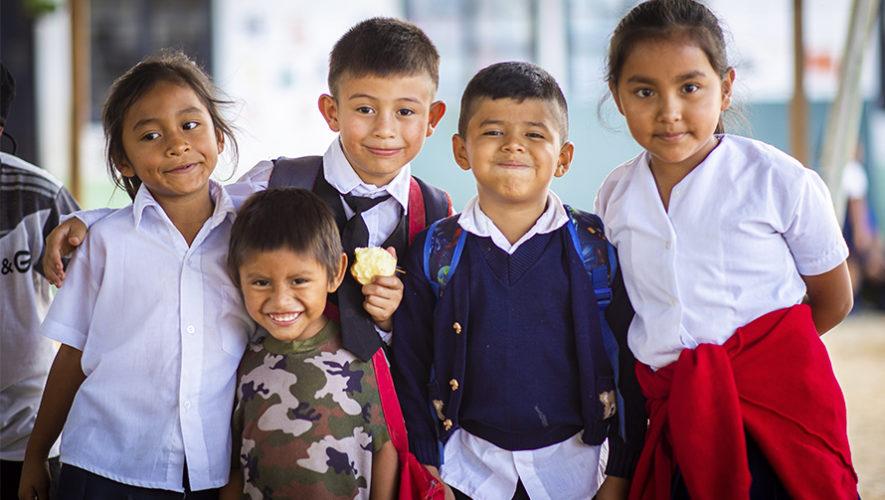 Niños harán donación a buena causa de Hope Letter en Guatemala