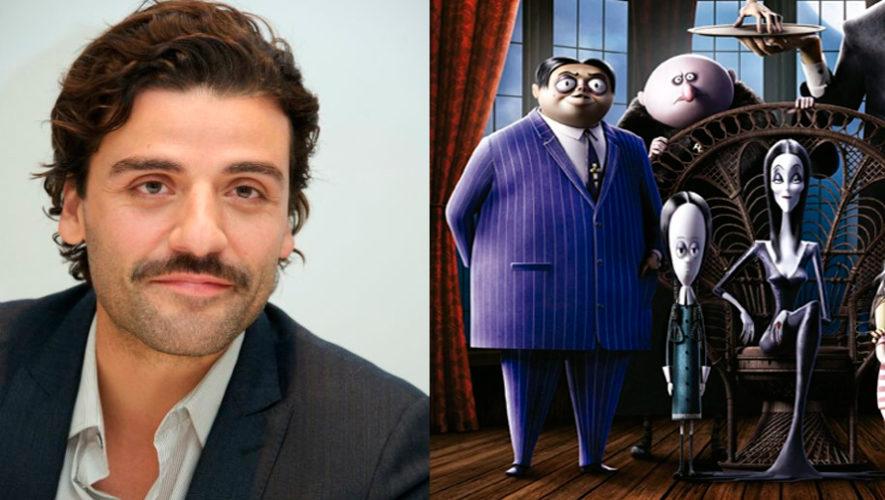 Oscar Isaac Es La Voz Del Personaje Principal De La Pelicula Animada De Los Locos Addams