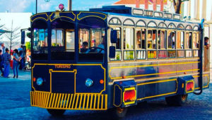 Paseo gratuito en trolley para niños para conocer el Centro Histórico   Agosto 2019