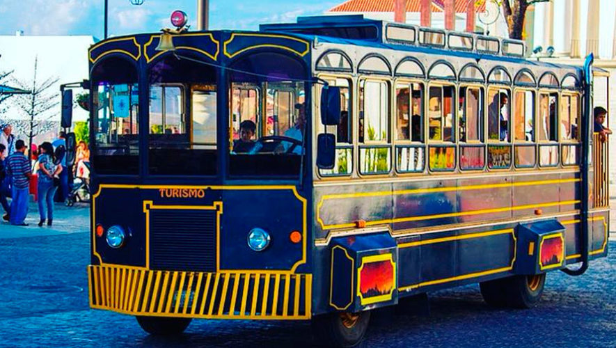 Paseo gratuito en trolley para niños para conocer el Centro Histórico | Agosto 2019