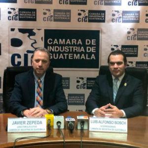 Premio Industrial Guatemala CIG 2019 empresas