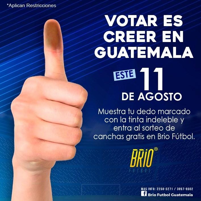 Promoción elecciones en Guatemala 2019