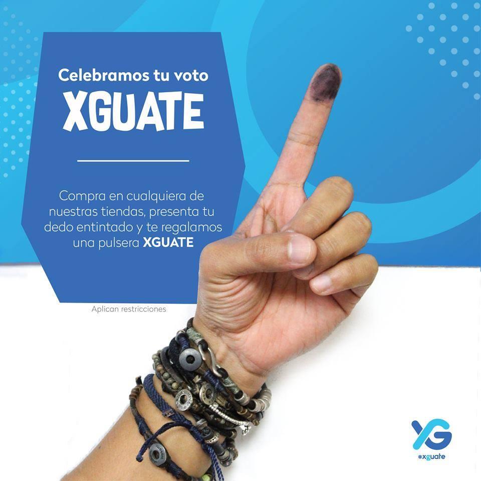 Promociones por elecciones en Guatemala