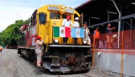 Reactivan el tren de carga entre México y Guatemala