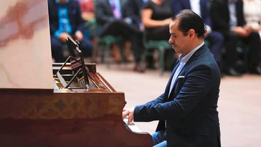 Recital gratuito de piano junto al maestro Hugo Arenas | Agosto 2019