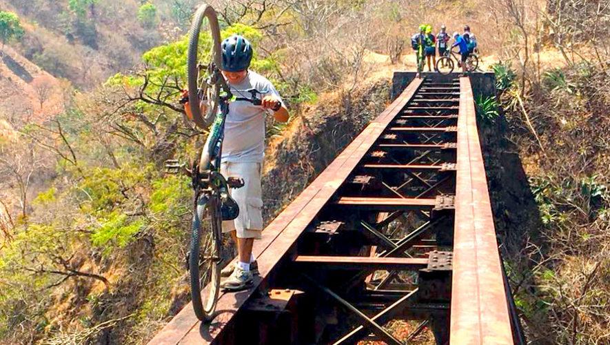 Recorrido de 40K en bicicleta por las vías férreas | Agosto 2019