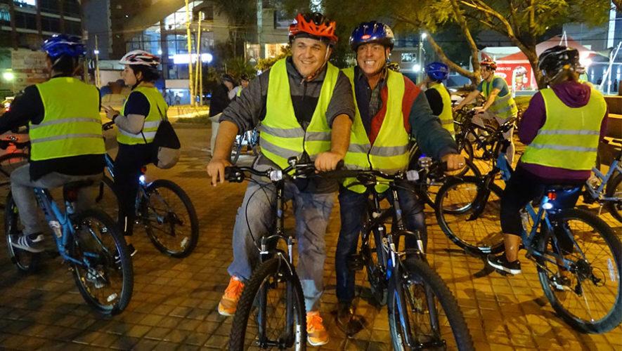 Recorrido gratuito en bicicleta por la Ciudad de Guatemala   Agosto 2019