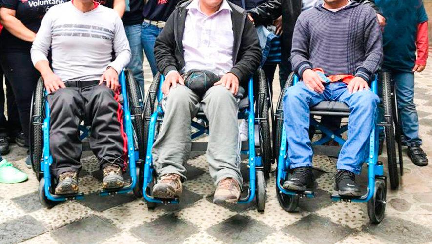 Regalarán sillas de ruedas a guatemaltecos de escasos recursos en la Ciudad de Guatemala