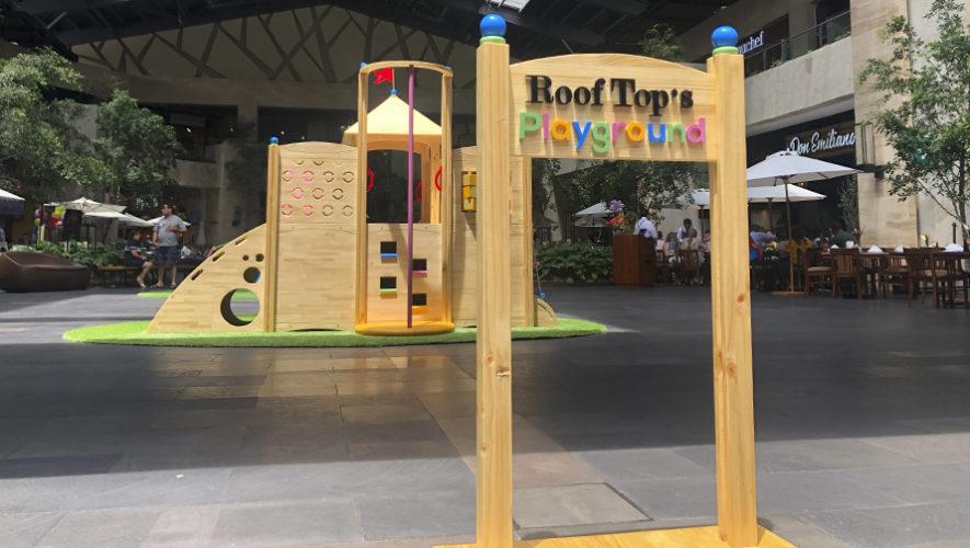 RoofTop's Playground para niños en Oakland Mall | Agosto 2019