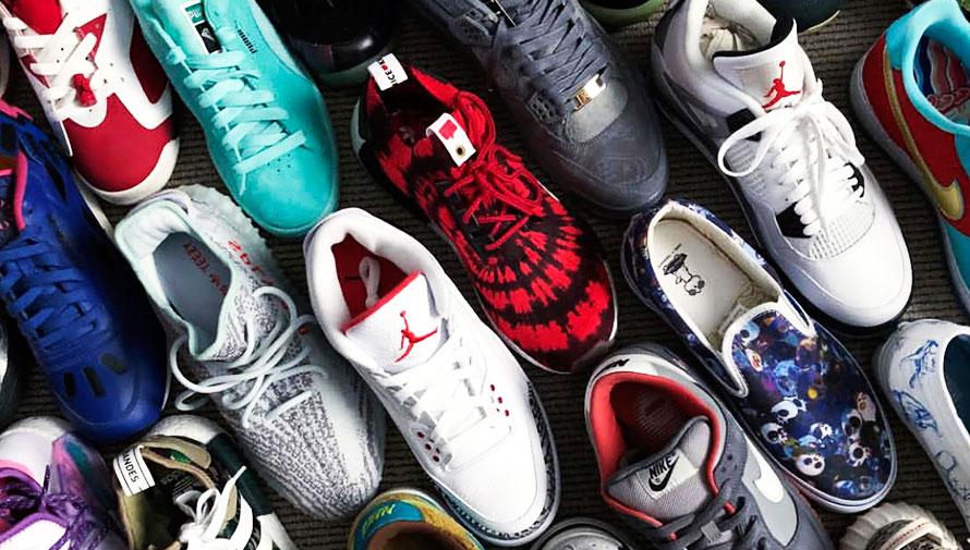 Sneaker Fever Gallery, exposición de tenis de colección en Guatemala