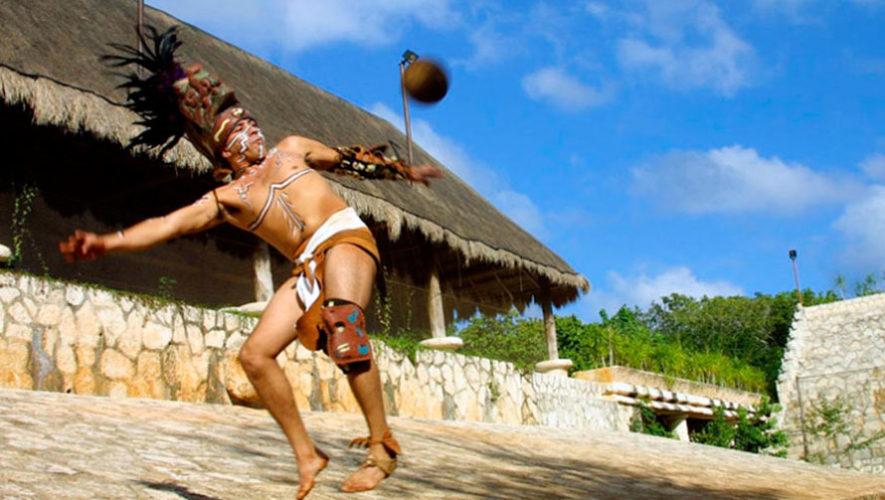 Taller gratuito y exhibición de juego de pelota maya | Agosto 2019
