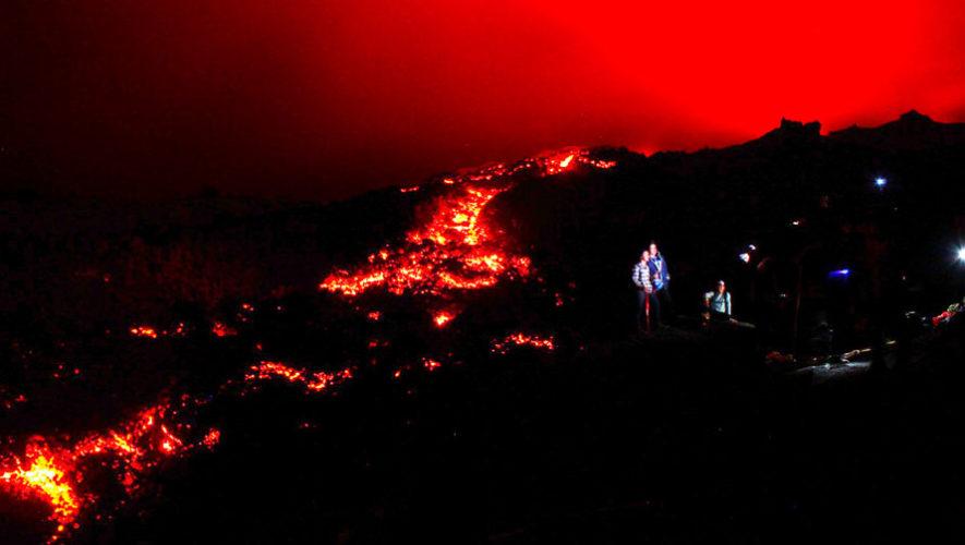 Viaje para ver los ríos de lava del Volcán de Pacaya | Septiembre 2019