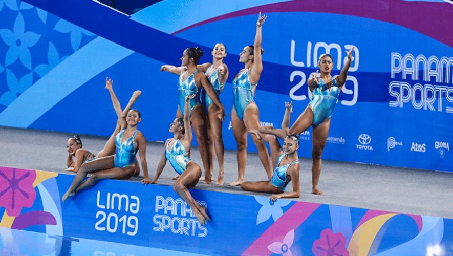 Lima 2019: Histórico debut de la natación artística de Guatemala en Juegos Panamericanos