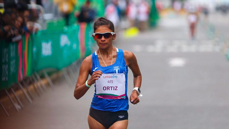 Lima 2019: Mirna Ortiz conquistó la plata en los 50 km marcha de los Juegos Panamericanos