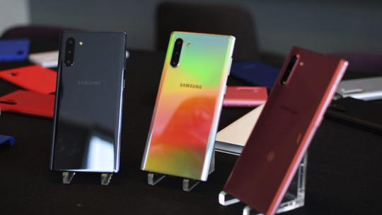 Galaxy Note10, el smartphone más compacto y poderoso de Samsung