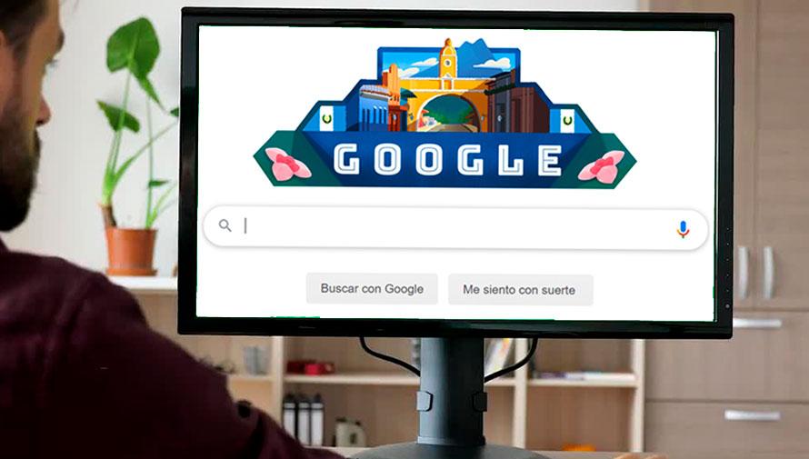 Doodles que Google ha dedicado a Guatemala
