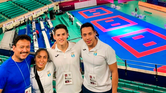 3 karatecas guatemaltecos competirán en la Liga Premier 1 de Tokio 2019