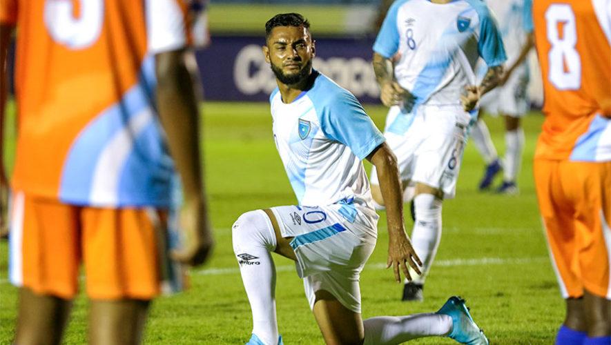 Alineación de Guatemala para el partido vs. Puerto Rico, Liga de Naciones C 2019
