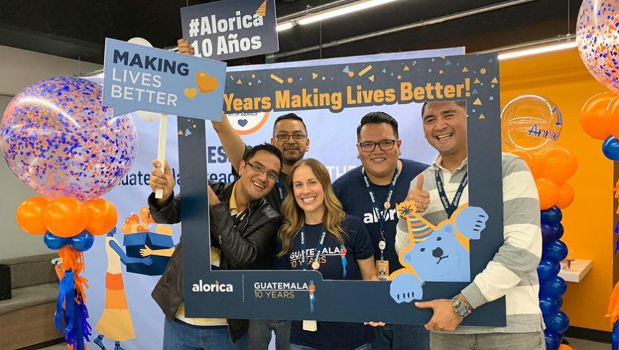 Alorica celebra su décimo aniversario en Guatemala