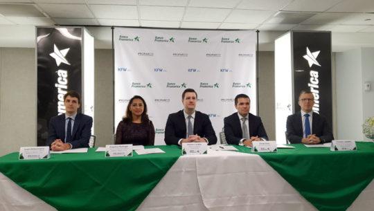 Banco Promerica Proparco DEG Prestamo credito pymes