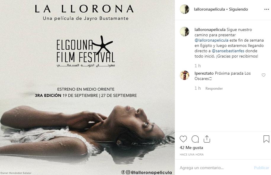 Cartelera deEl Gouna Film Festival 2019