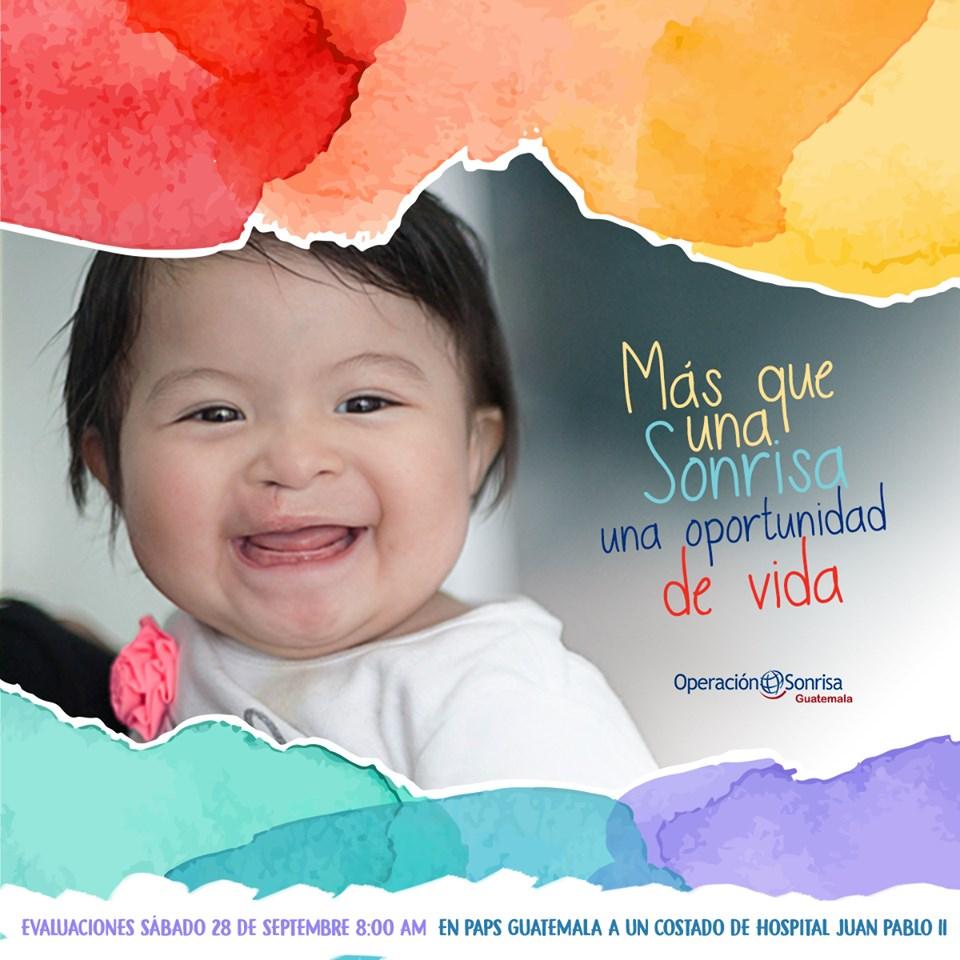 Cirugía gratuita para niños
