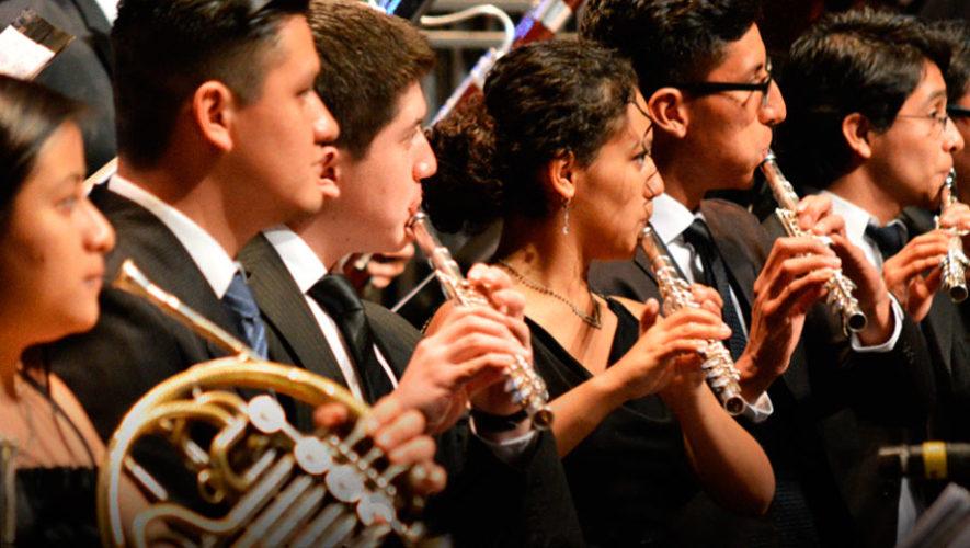 Concierto sinfónico gratuito en Antigua Guatemala | Septiembre 2019