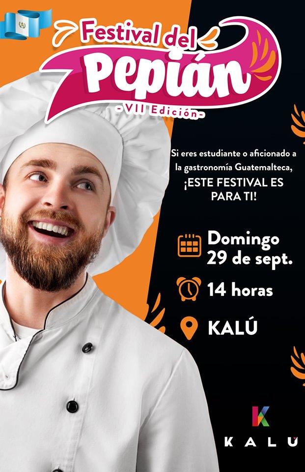 Convocatoria para participar en el Festival del Pepián 2019 en la Ciudad de Guatemala