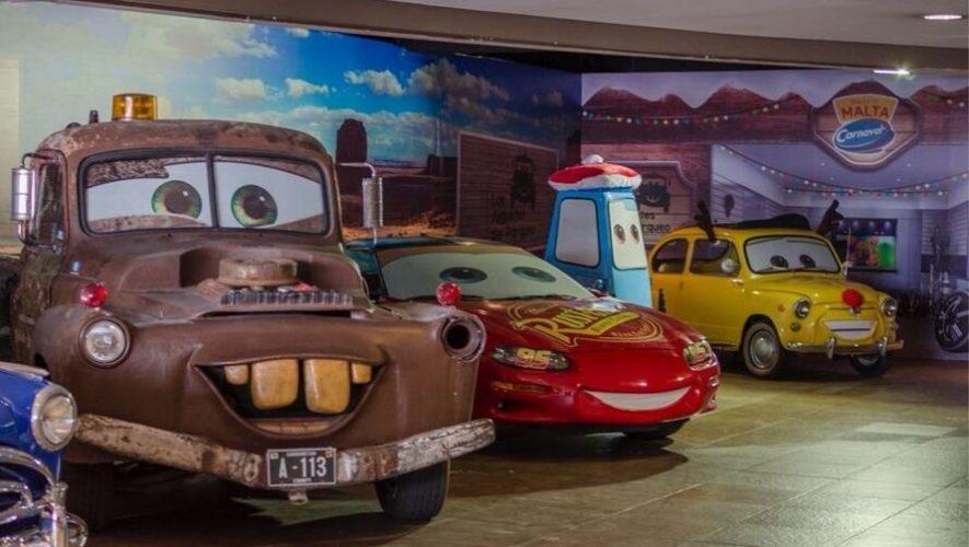 Exhibición de personajes de Cars en Cayalá   Septiembre 2019