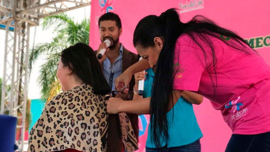 Donación de cabello a beneficio de Fundecán | Octubre 2019