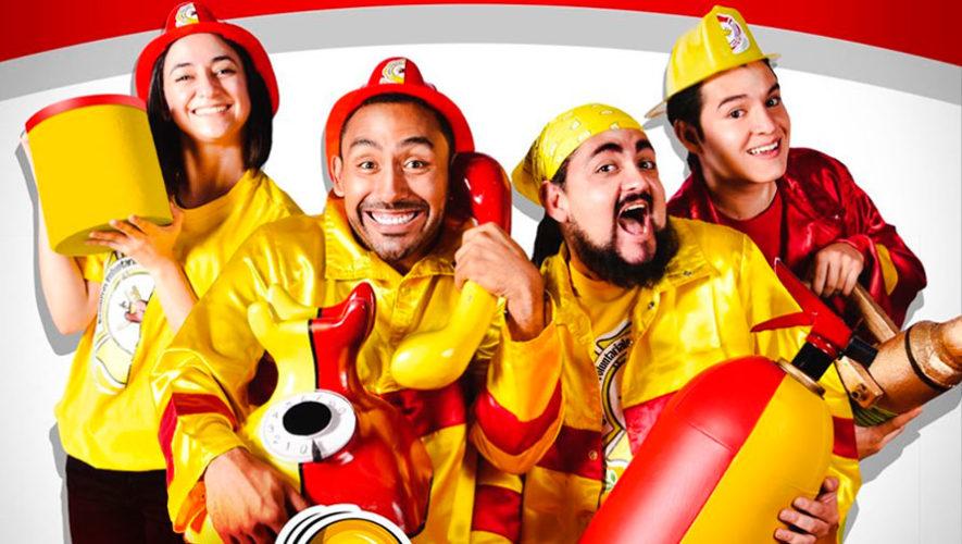 El Ring de los Bomberos, comedia familiar en Guatemala | 2019