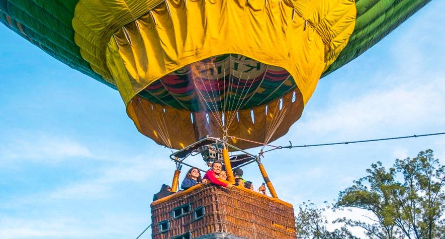 Elevación en globo aerostático en Quetzaltenango | Septiembre 2019