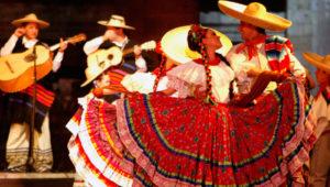 Fiesta tradicional mexicana en Ciudad de Guatemala   Septiembre 2019