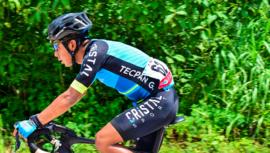 Fredy Toc, el mejor nacional de la 55 Vuelta Internacional de la Juventud a Guatemala 2019