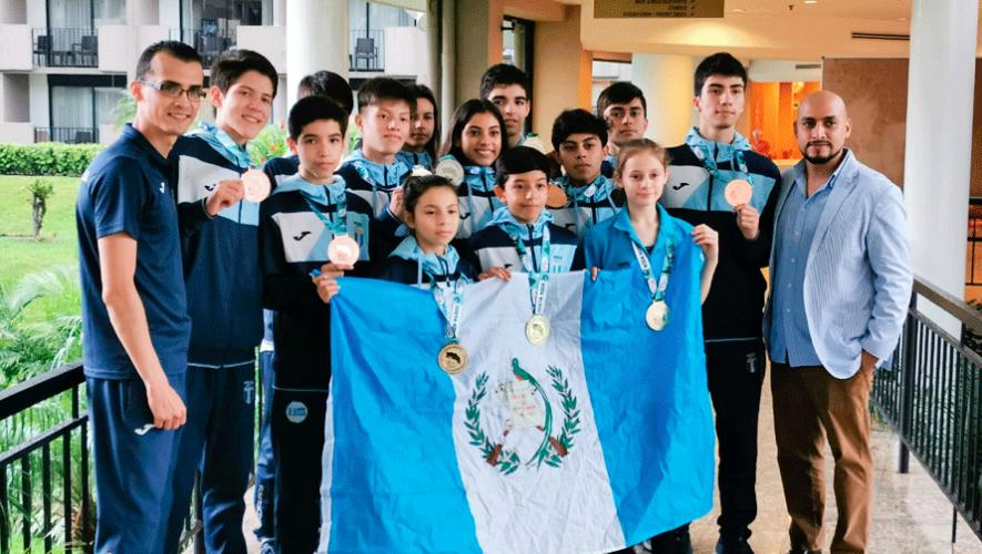 Guatemala arrasó con 12 medallas en el Costa Rica Open G1 2019