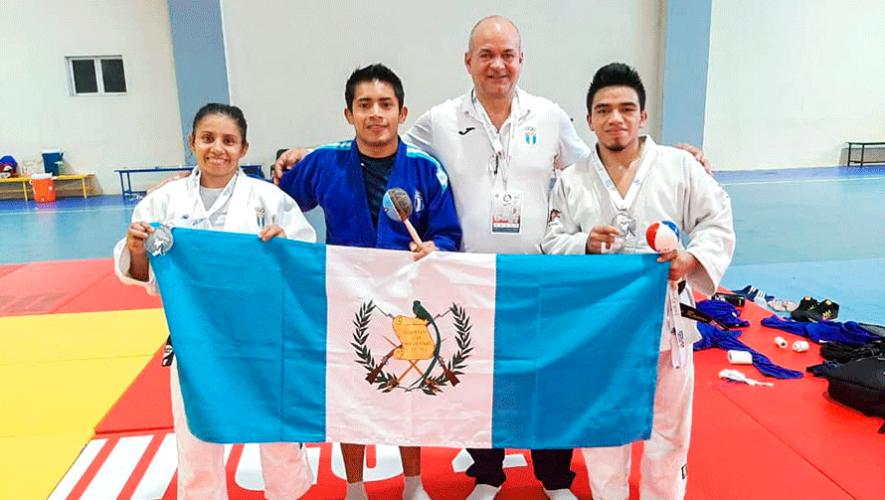 Guatemala consiguió 2 medallas de plata en la Copa del Caribe 2019