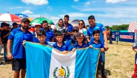 Guatemala consiguió plata y bronce en la Copa Latinoamericana de Minicross 2019