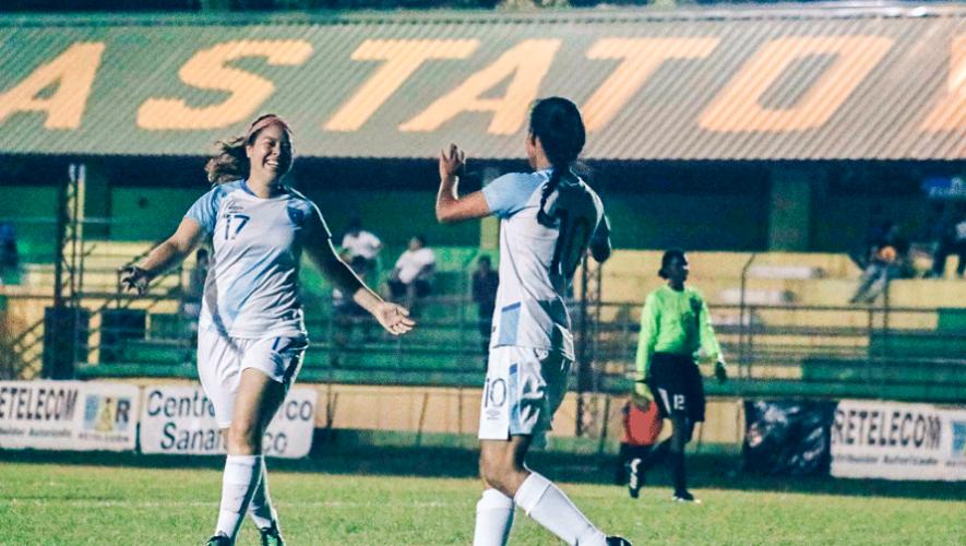 Guatemala goleó 9-0 a Belice y está lista para la Eliminatoria al Preolímpico Femenino Concacaf 2019