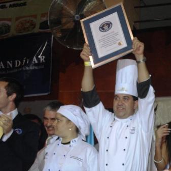 Guatemala obtuvo el Récord Guinness