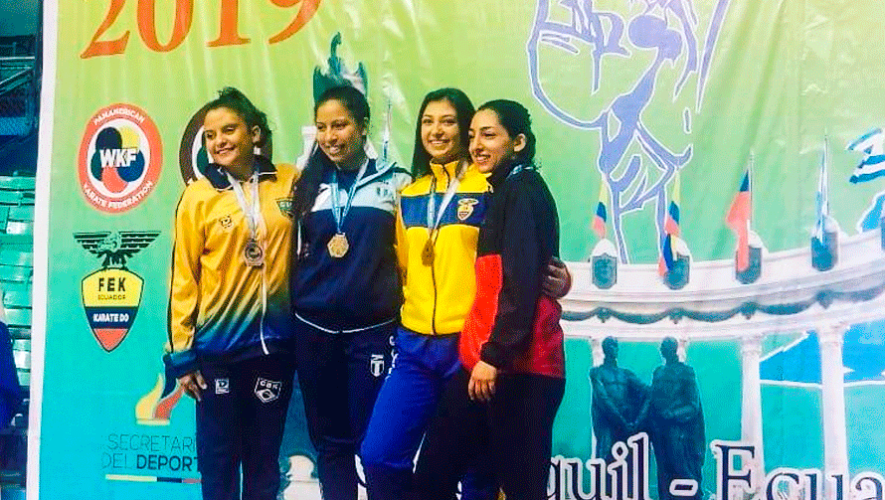 Guatemala trajo de regreso 6 medallas del XXX Campeonato Panamericano Juvenil 2019