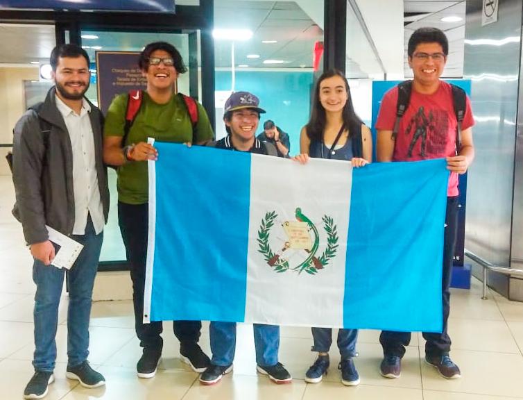 Guatemaltecos mención honorífica en México
