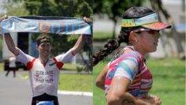 Raúl Tejada y Gabriela Rodríguez se llevaron el triunfo del Ironmaya 70.3 2019