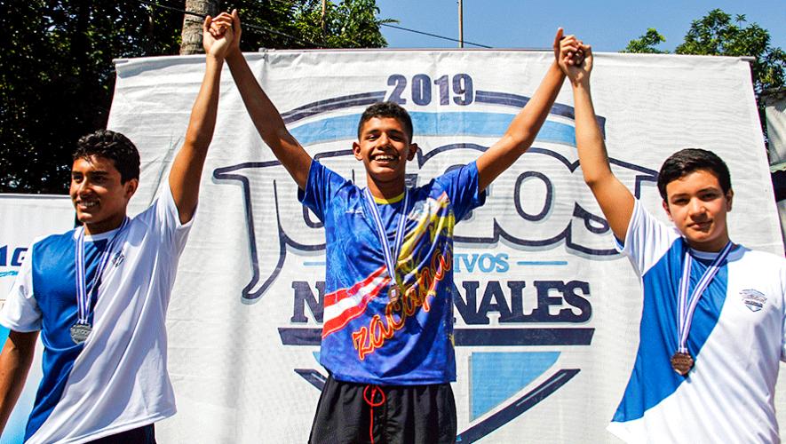 Iván Pineda y Zayra Tahom conquistaron los Juegos Deportivos Nacionales 2019