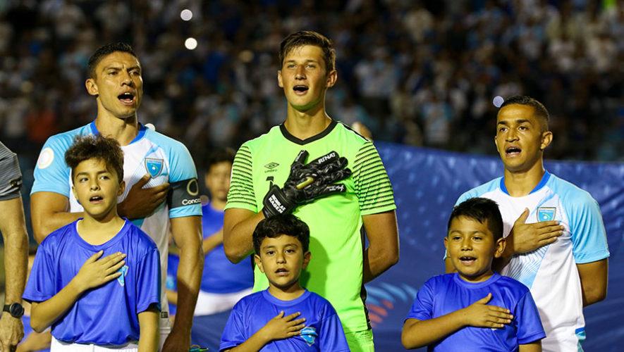 Jugadores convocados de Guatemala para el partido vs. Puerto Rico, Liga de Naciones C 2019