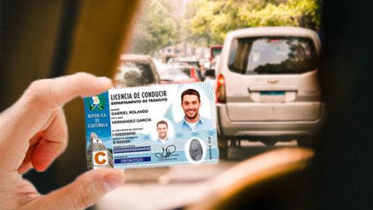 Lugares para sacar la licencia de conducir en Guatemala