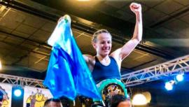 María Micheo es la nueva Campeona Internacional Femenil WBC