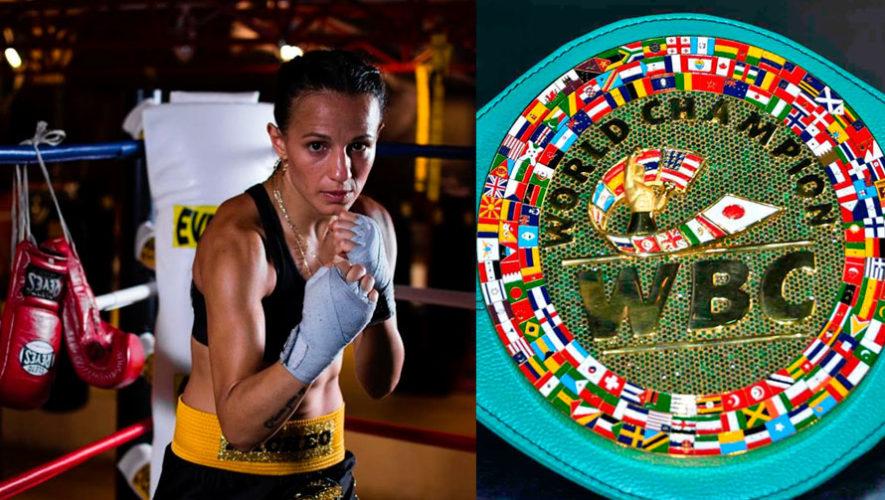 María Micheo peleará por el Título Internacional Femenil Internacional WBC
