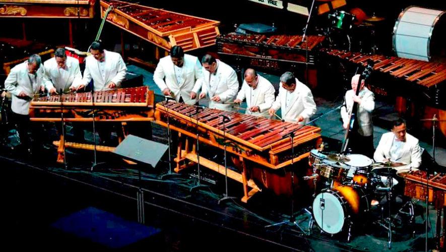 Marimba Chapinlandia en concierto celebrando la Independencia | Septiembre 2019